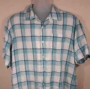 Other - Tommy Bahama Linen Mens Button up Shirt XL